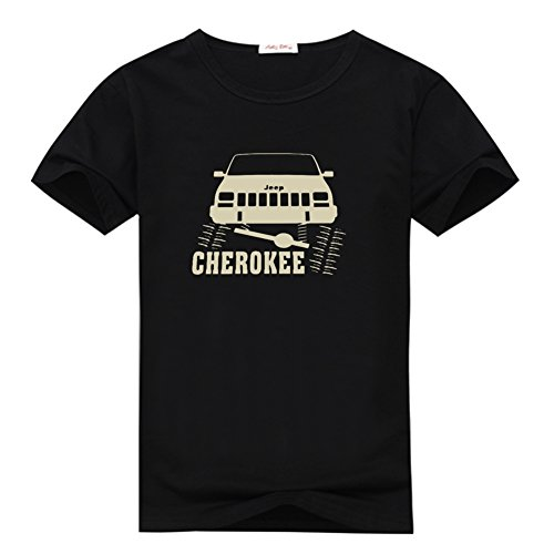 Rock Crawler Graphic Printed Jeep Cherokee XJ T-shirt For Men