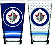 NHL Winnipeg Jets Mixing Glass, 2-Pack