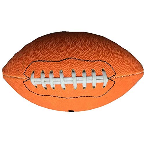 Niome American Football Rugby Sports Standard Adult Match Game Ball Training Official Size 9 - Leather Composite Wee Football Pee
