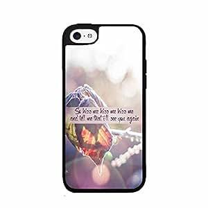 Kiss Me Kiss Me Plastic Fashion Phone Case Back Cover iPhone 5c