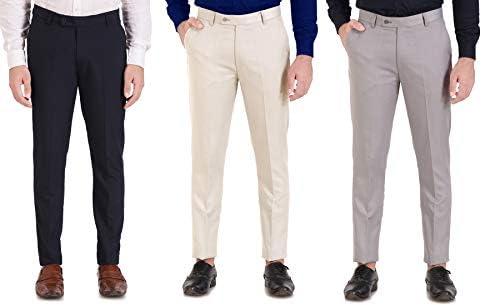 CLASSIO FASHION Men's Regular Fit Trousers