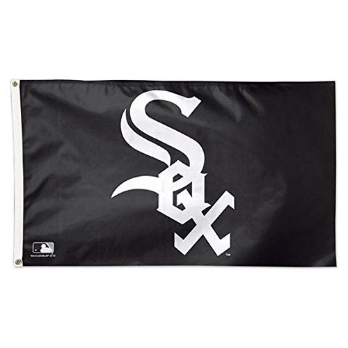WinCraft MLB Chicago White Sox 01771115 Deluxe Flag, 3' x 5'