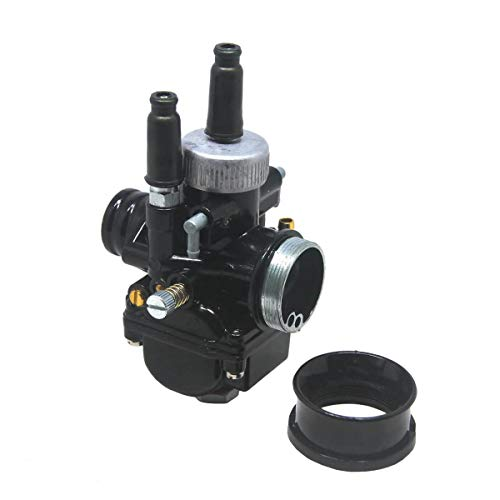 Black Racing PHBG Carburetor 17mm 19mm 21mm for Dellorto Style DS Replacement Carb (17mm)
