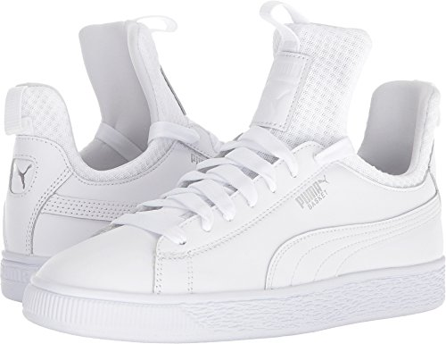 PUMA Women's Basket Fierce EP White White 8 B US by PUMA