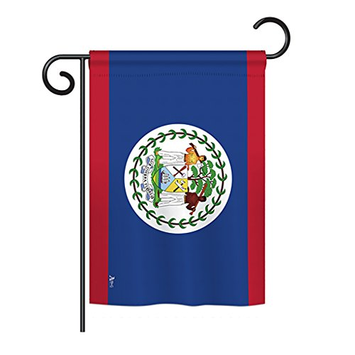 Americana Home & Garden G142028-P3 Belize World Nationality Decorative Vertical Garden Flag, 13