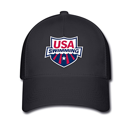 DEBBIE Unisex USA Swimming Team 2016 Rio Summer Olympic Baseball Caps Hat One Size - Olympic Apparel Swimming