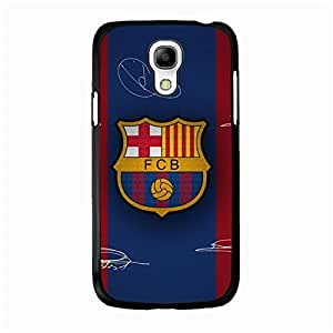 Best-Selling FC Barcelona Mobile Phone Case for Samsung Galaxy S4 Mini FC Team Printing FCB Logo Cover Case