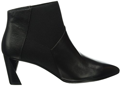 Nude United Black Black Mid Ankle Boots Women's Zink RxZ6dx