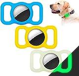 [3 Pack] Dog Collar Holder Case Compatible for