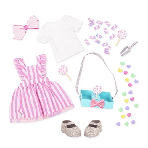- Glitter Girls by Battat - A Scoop of Yummy Treats Outfit -14-inch Doll Clothes - Toys, Clothes and Accessories for Girls 3-Year-Old and Up