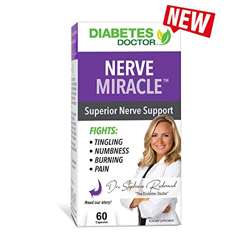 Diabetes Doctor Advanced Nerve Health – Neuropathy and Type 2 Diabetes Support – All-Natural Blend with Mega Dose of Alpha Lipoic Acid – for Foot and Leg Pain