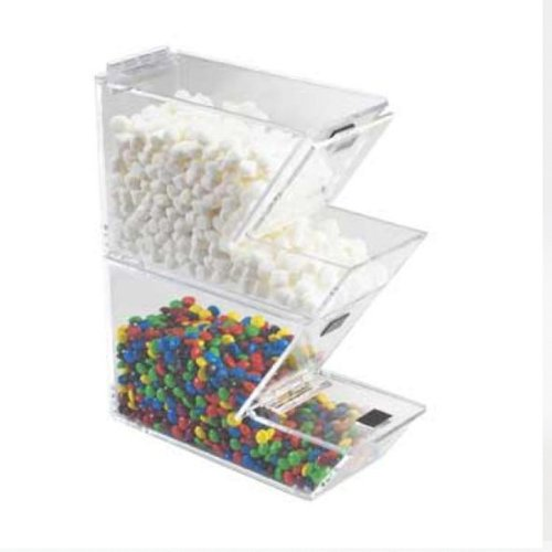 4W x 11D x 7H Stackable Topping Dispenser/Case of ()