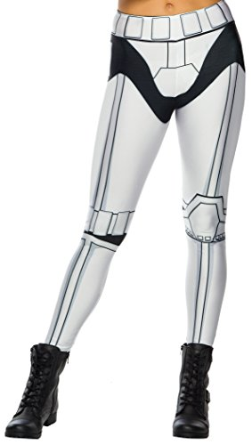 Rubie's Adult Star Wars Stormtrooper Costume Leggings (Star Wars Stormtrooper Adult Costume)