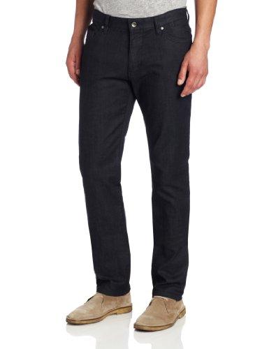 Metallic Zip Fly Jeans - 7