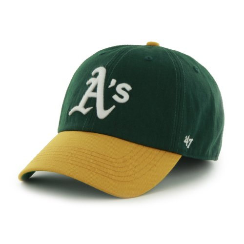 Oakland Athletics Gear (MLB Oakland Athletics Cap, Dark Green, X-Large)