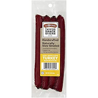 Old Wisconsin Honey Brown Sugar Snack Sticks, 3 oz (Pack of 7)