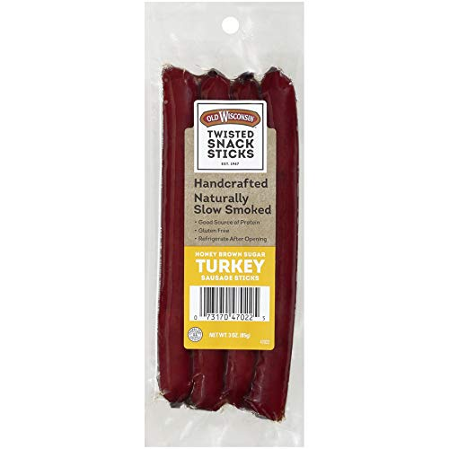 Old Wisconsin Honey Brown Sugar Snack Sticks, 3 oz  (Pack of 7) by Old Wisconsin (Image #5)