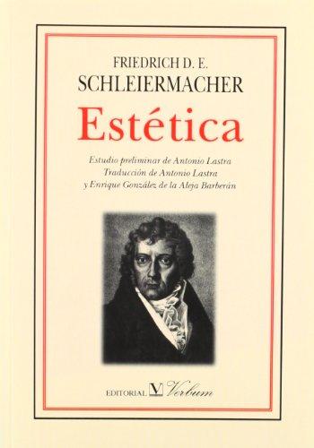 Descargar Libro Estética Friedrich Schleiermacher