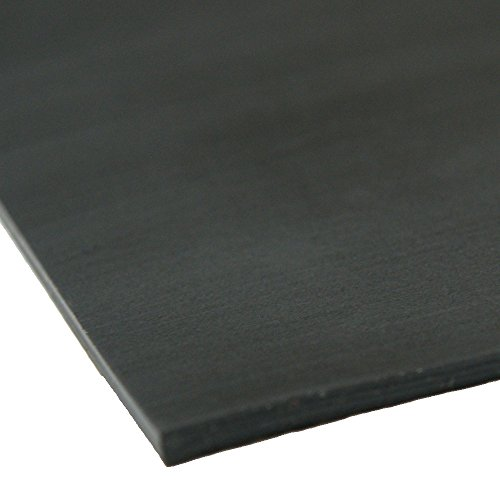 "Santoprene - 60A - Thermoplastic Sheets and Rolls - 1/16"" Thick x 24"" Width x 12"" Length"