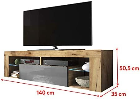 Selsey-Living TV Stand, 140 x 35 x 50,5