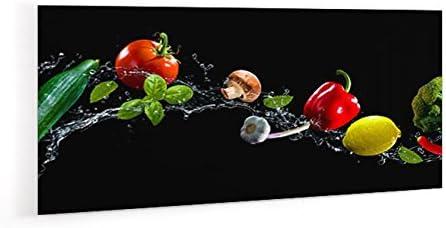 Impression Murale Credence De Cuisine En Verre De Synthese