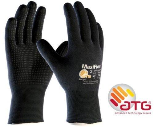 MaxiFlex Endurance 34-847 Drivers Nitrile Foam Micro Dot Coated Work gloves - 6/XS ATG