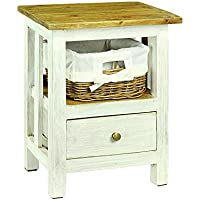 Tonale Styles Mirabelle Night Stand, White