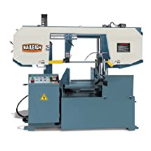 Baileigh BS-360SA Semi-Automatic Column Horizontal Band Saw, 3-Phase 220V, 5hp Motor, 66-279 fpm Speed