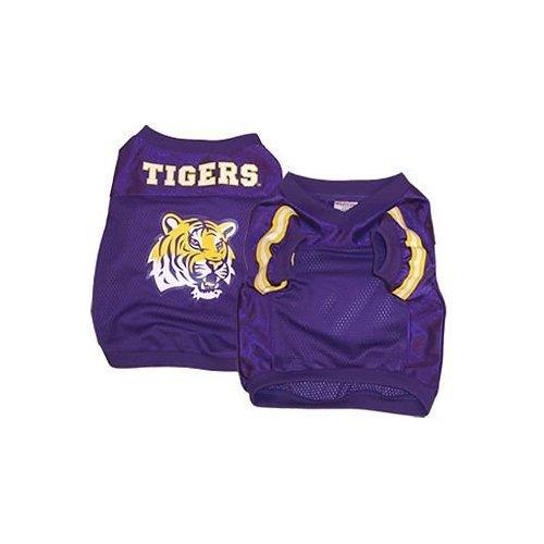 NCAA LSU Tigers Football Dog Jersey, Medium