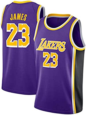 SansFin NO.23 Lebron James, Jersey de Baloncesto, Lakers, Edición ...