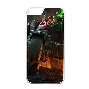 Urgot-003 League of Legends LoL case cover for Apple iPhone 6 - Plastic White