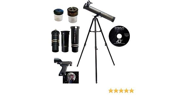 Amazon.com : galileo 800mm x 80mm astronomical telescope kit with