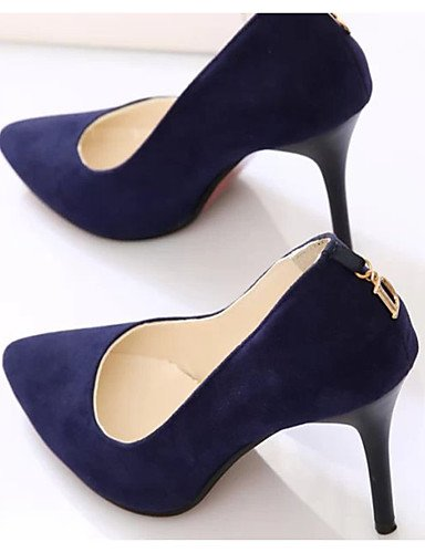 GGX/Damen Schuhe Fleece Stiletto Sommer Heels Heels Casual Stiletto Fleece Heel andere schwarz/blau/Burgunderrot black-us6.5-7 / eu37 / uk4.5-5 / cn37 bee22f