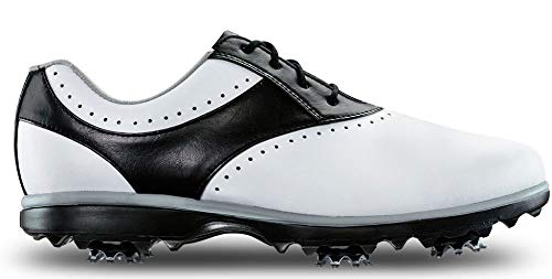 FootJoy Emerge Women's Golf Shoes - 93919 White/Black - 9 Wide