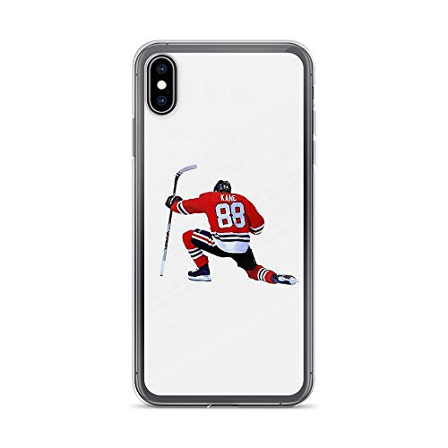 iPhone Xs Max Pure Clear Case Cases Cover Patrick Kane Hockey Celebration