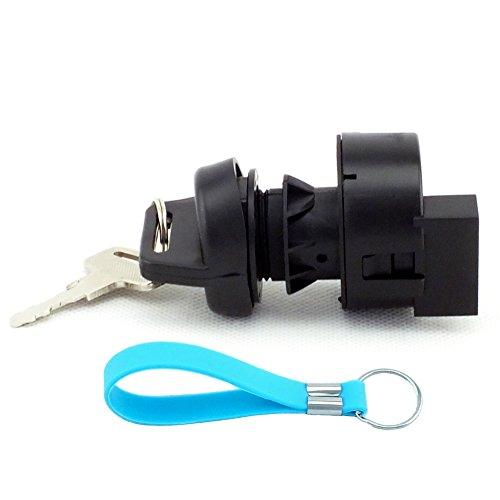 QAZAKY Replacement for Ignition Key Switch Polaris Sportsman Trail Blazer Boss Predator Ranger Crew RZR 4 250 325 330 400 500 570 600 700 800 850 900 1000 MV7 X2 Pro-RMK Switchback Adventure XP EFI HO