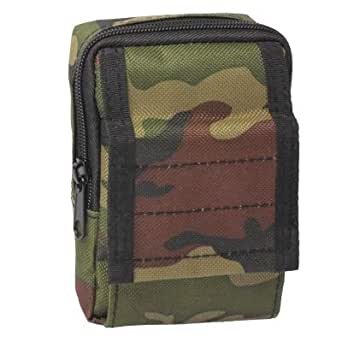 Mens Bag Multifunctional Waterproof Accessories Bag Sundries Bags Key Cell Phone Waist Bag Pouch Case for Outdoor Activities High capacity (Color : Army Green)
