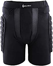 docooler 3D Padded Short Bicycle Cycling Underwear Shorts Protective Hip Butt Pad Compression Shorts Pants