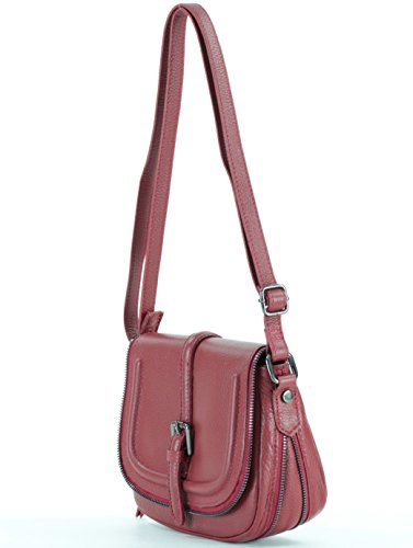 Histoiredaccessoires - Bag With Leather Shoulder Bag Woman - Sa005114re-bambino Dark Red