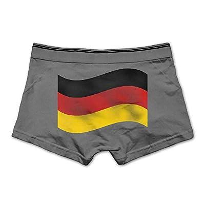 ZOZGETU Men's Boxer Briefs Underwear Soft Cotton Boxer Brief Germany Flag Printed Underpants,M/L/XL/XXL/3X