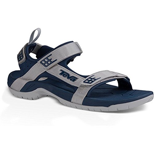 Teva Mens Tanza Sandalo Navy-grigio