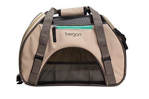 Bergan Comfort Carrier for Pets, Taupe, Small 16