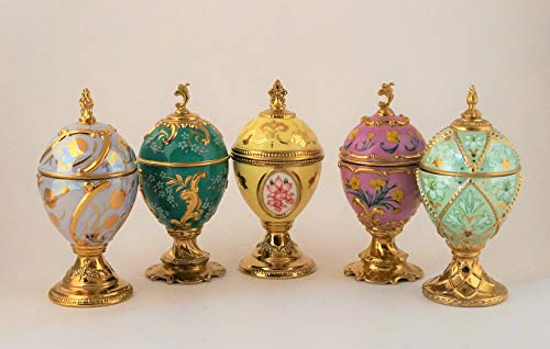 Ass.(One) House of Faberge by Franklin Mint Musical Egg 5.3