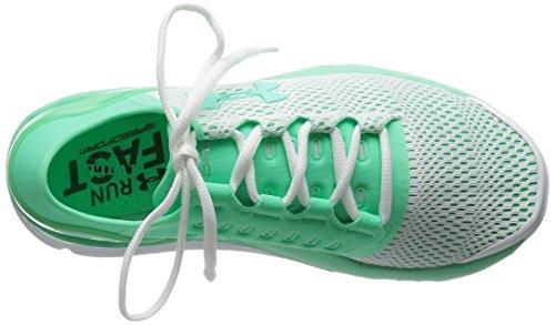 5 Women's Sneaker Speedform UA Apollo Under B Antifreeze White Antifreeze Armour 2 7 M q54xZZP