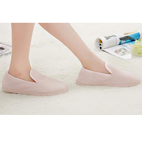Cotton Anti Sole Indoor Comfort Pink ACTLATI Shoes Rubber Women House Slippers Slip Soft Memory Foam qwg8ZZEp