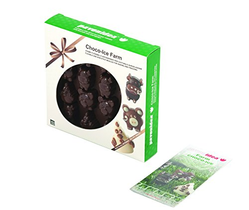 Pavoni CHOCO11 Platinum Silicone Farm Animals Chocolate Mould, Brown by Pavoni (Image #2)