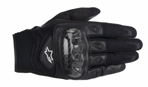 Alpinestars SMX-2 AC Men's Street Gloves - Black / 2X-Large Alpinestars Scheme Kevlar Gloves