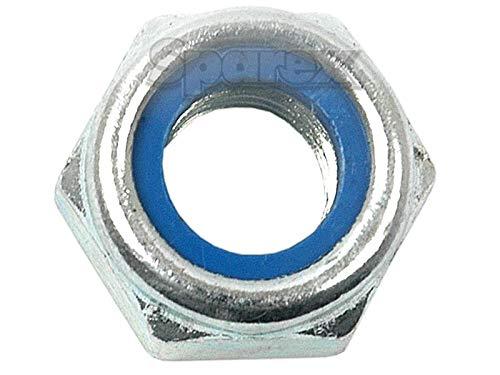 Self Locking Nut, Size: M10 x 1.25mm (Din 985) Metric Fine