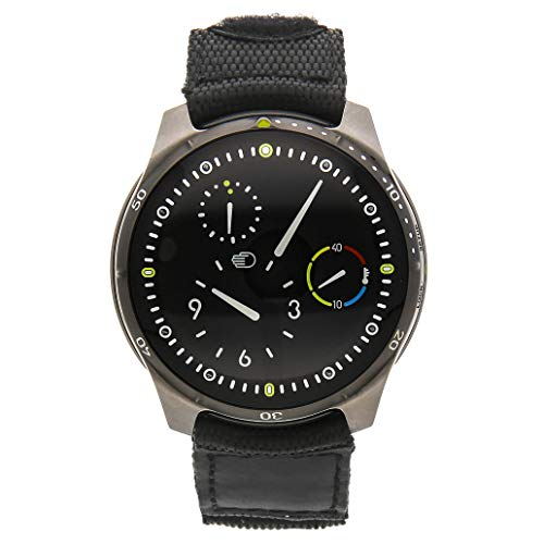 Ressence Type 5 Orbital Convex System Black Dial Mens Watch Type 5.1B (Certified Pre-Owned)