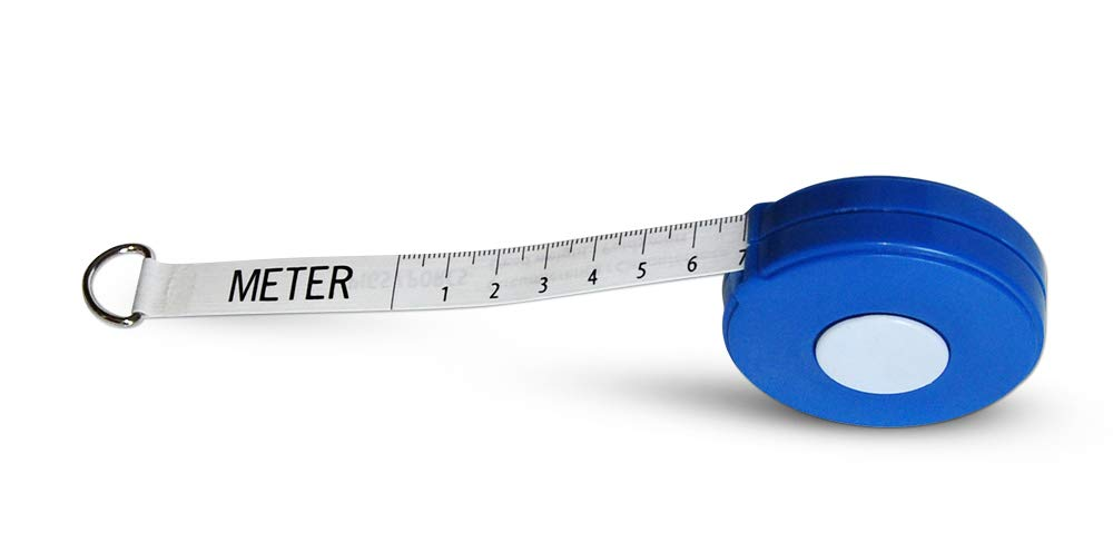 Wintape Professional Cattle Weightband Weight & Height Tape Measure (Blue)